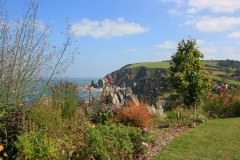 Cliffe Garden overlooking Lee near Ilfracombe