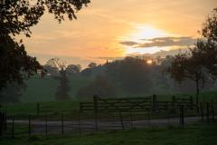 Castle Hill Estate near South Molton