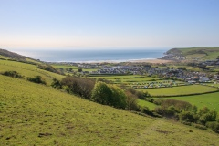 Croyde Bay From Saunton Down in May