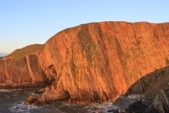 Baggy Point in the evening sun