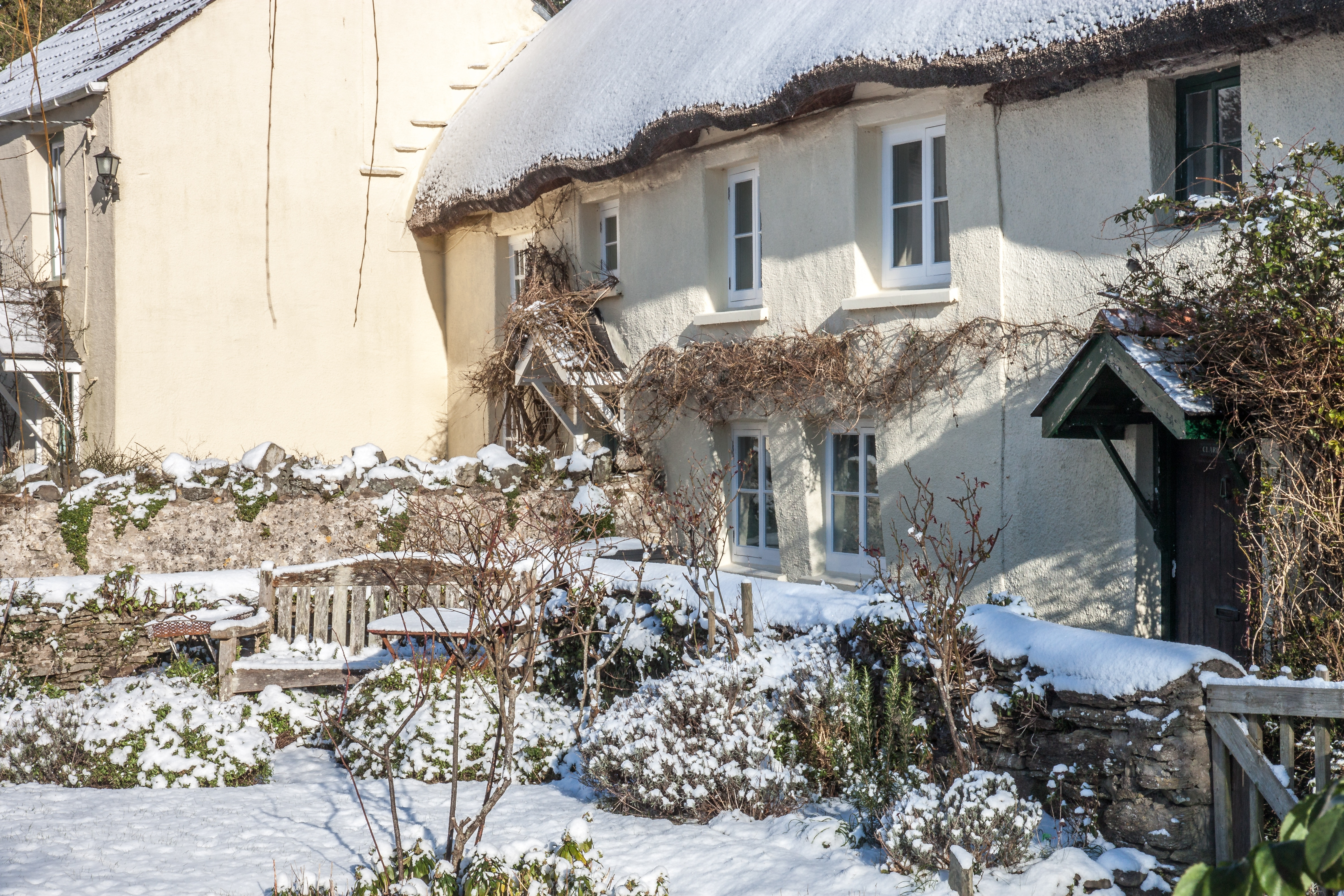 Henry Williamson's Cottage in Winter
