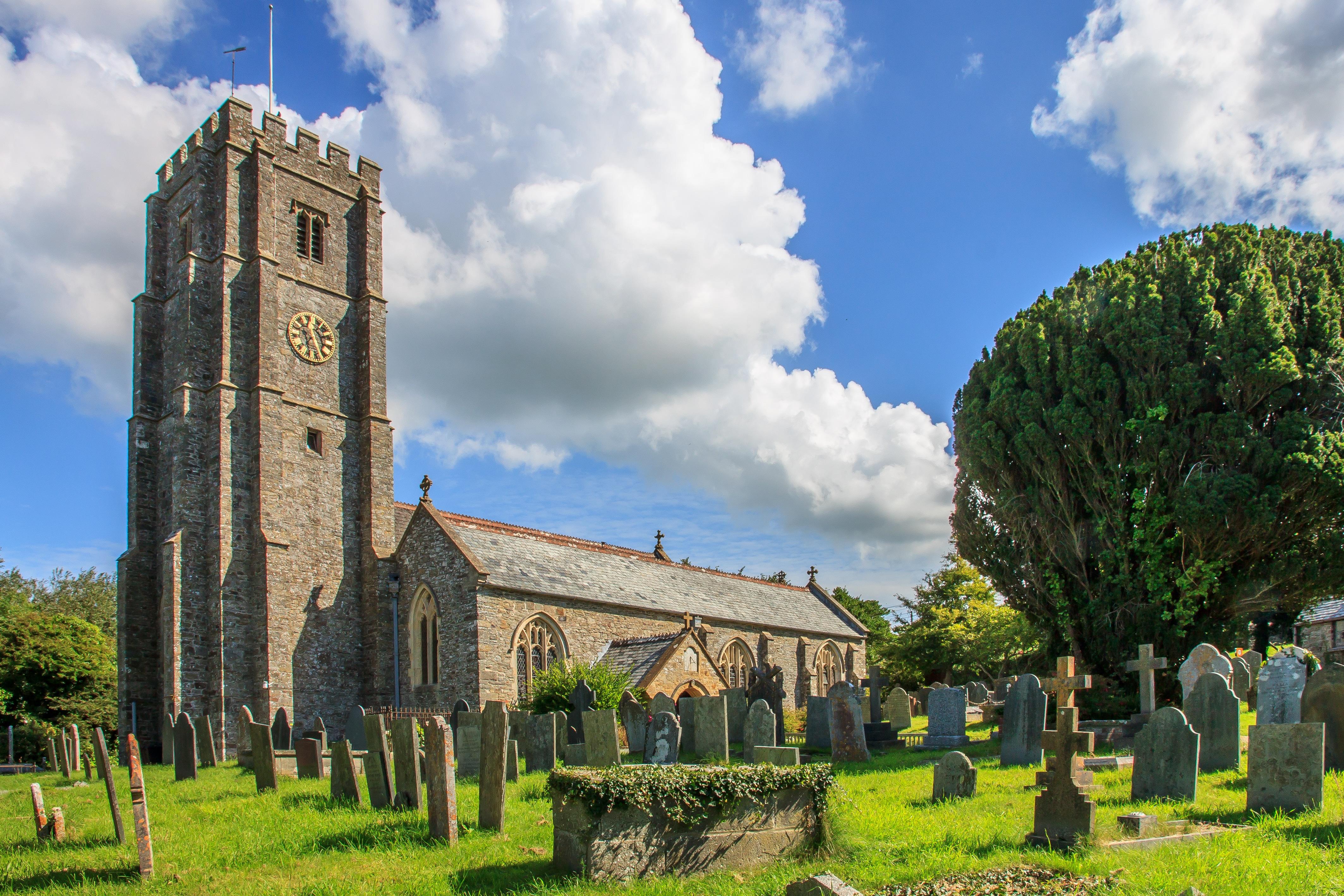 April: St George's Church