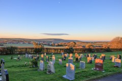 February: Georgeham cemetry
