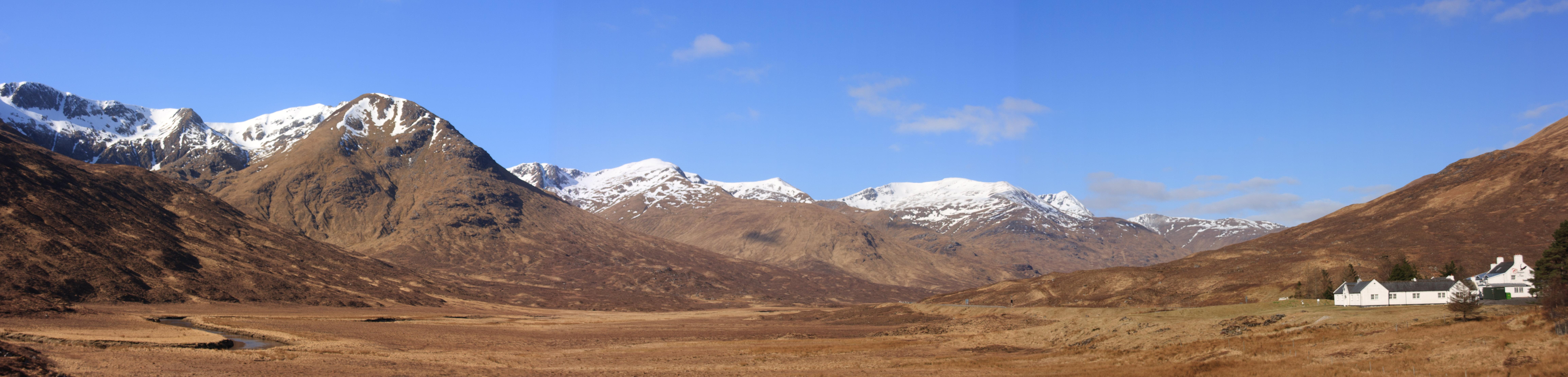 Glen Shiel Panorama