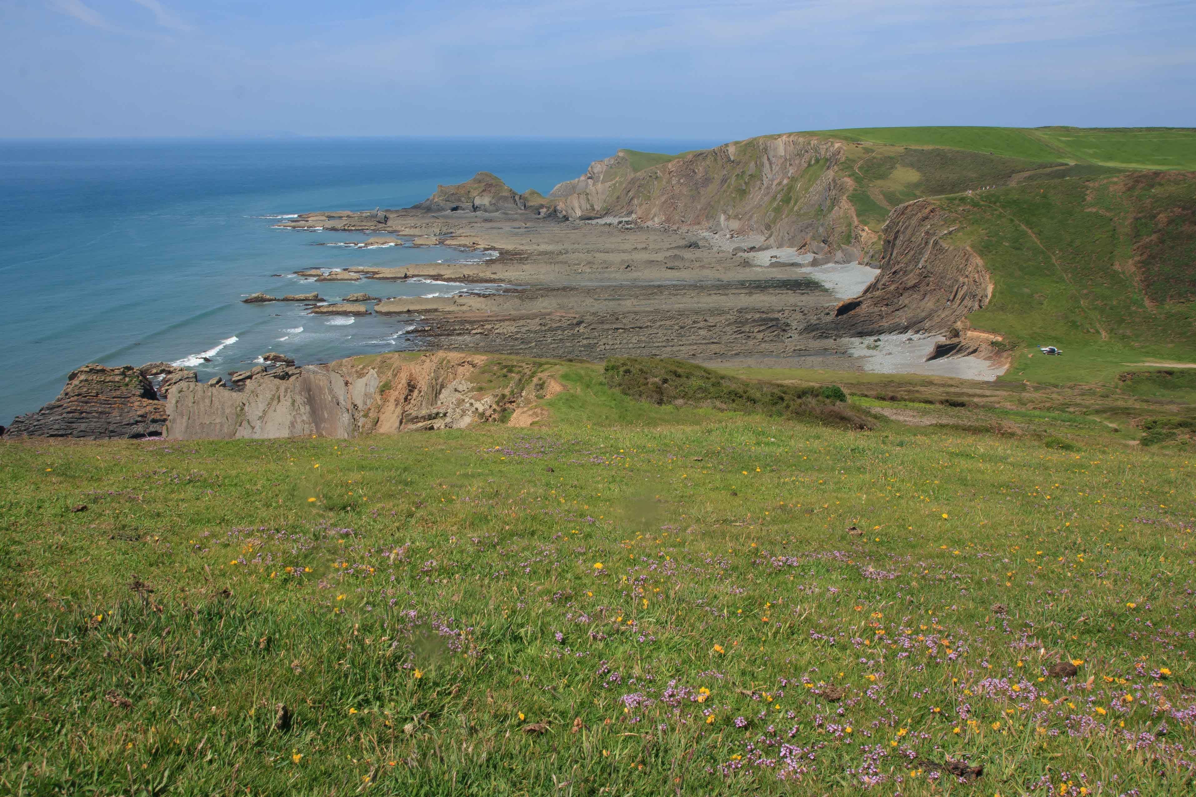 Coastline between Hartland Quay and Hartland Point