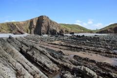 Cliffs near Hartland Quay