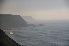 View South from near Hartland Quay in November