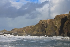 View north from Hartland Quay
