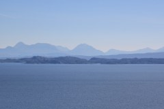View across to the mainland from Skye