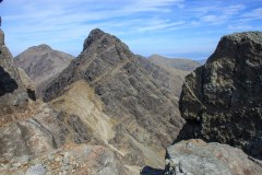 Near the summit of Bla Bheinn