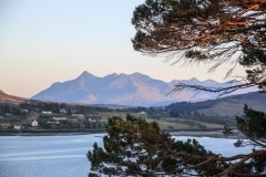 Cuillin Mountains from Portree