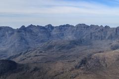 Cuillin Ridge from the summit of Bla Bheinn