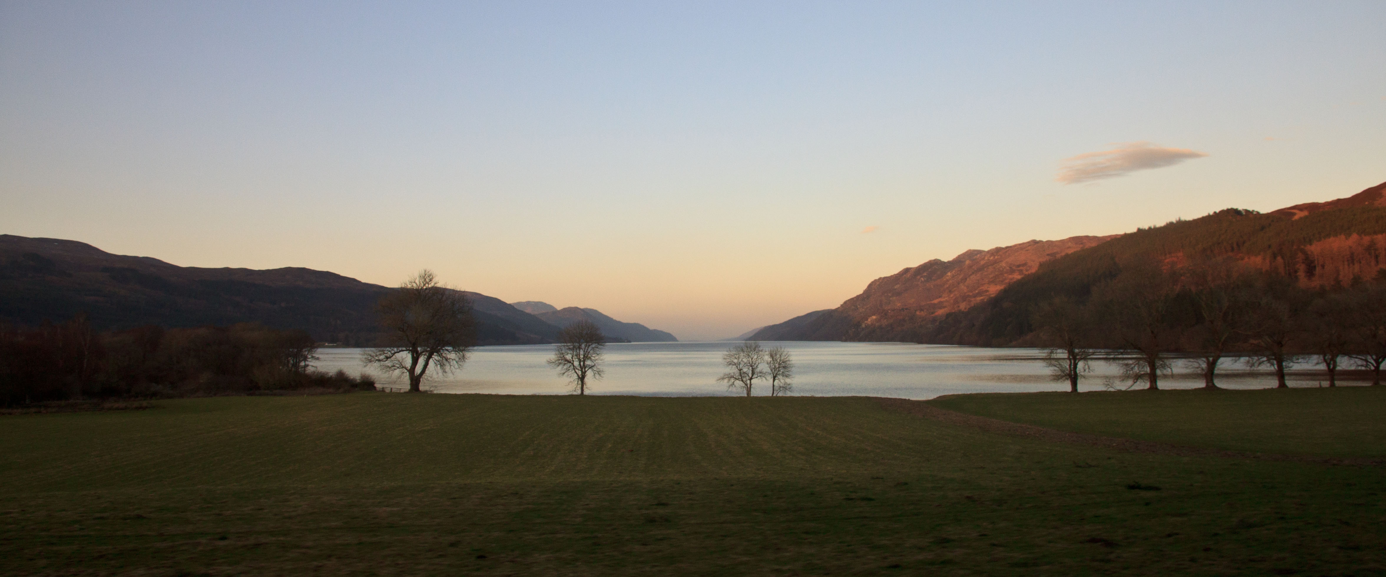 South end of Loch Ness, March 2015.