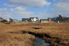 Corrour Station on Rannoch Moor. March 2015.