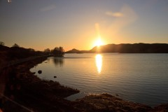 Loch Tarff south of Loch Ness