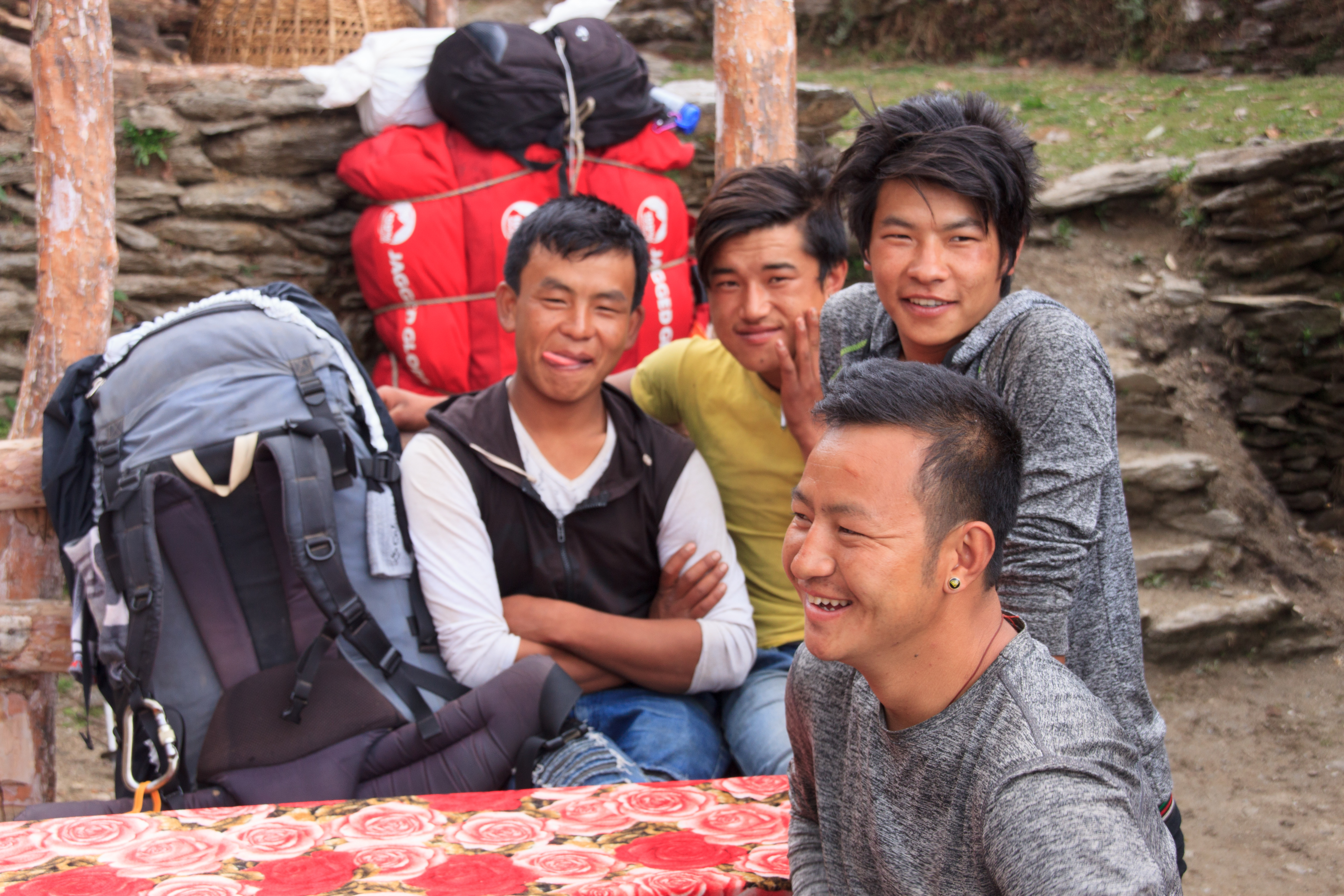 Some of our porters