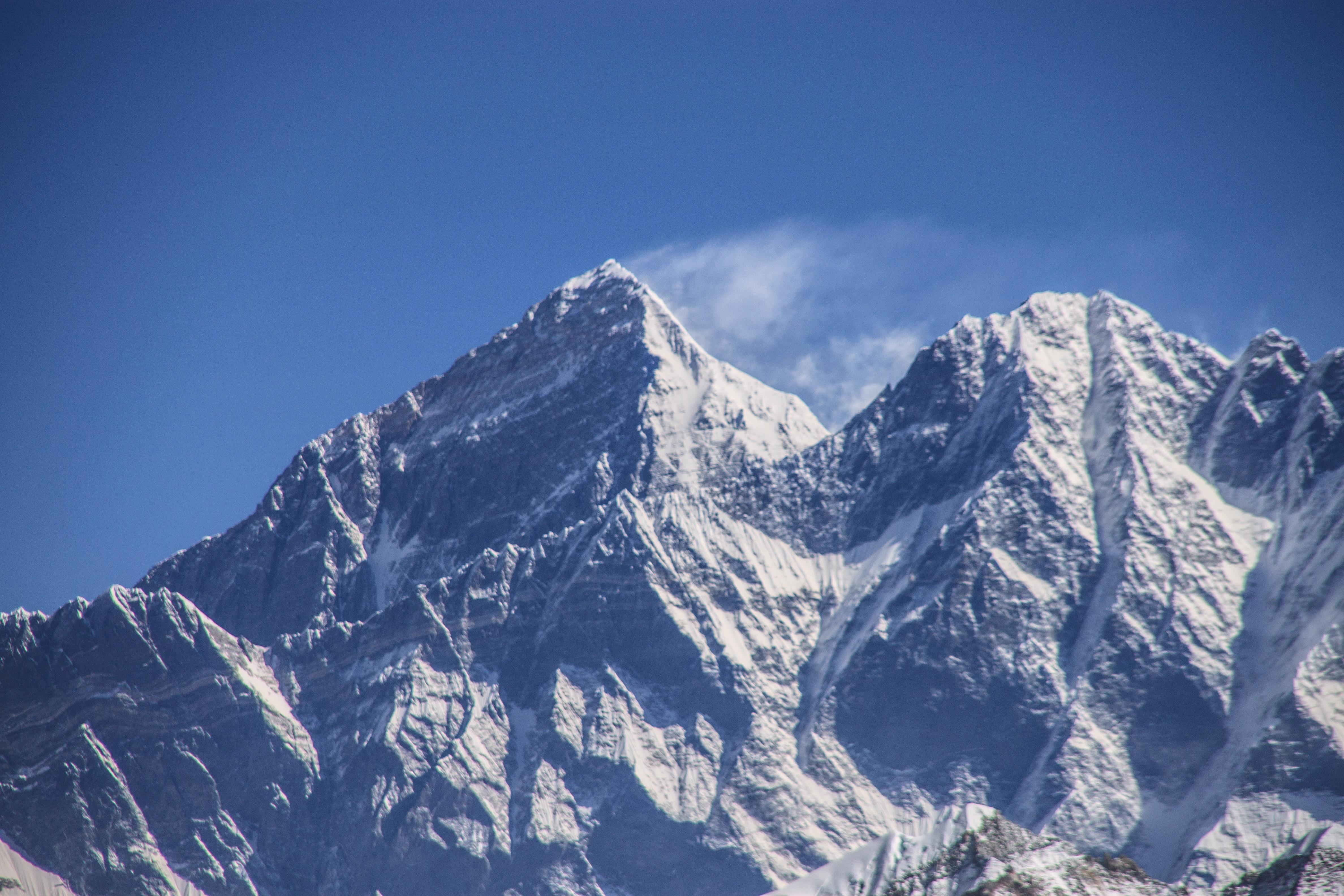 Summit of Mt Everest