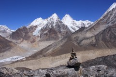 Un-named peaks near Khare