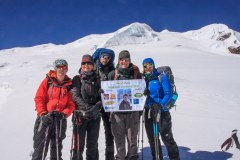 The five of us who didn't make it to the summit