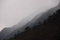 Hinku Khola valley on the way to Mera Peak