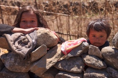 Children at Lukla