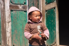 One of the many Nepali children we passed along the way.