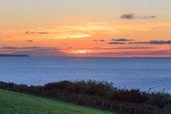 Lundy Island beyound Croyde Bay