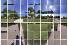 Montage of Queen Square in Bristol