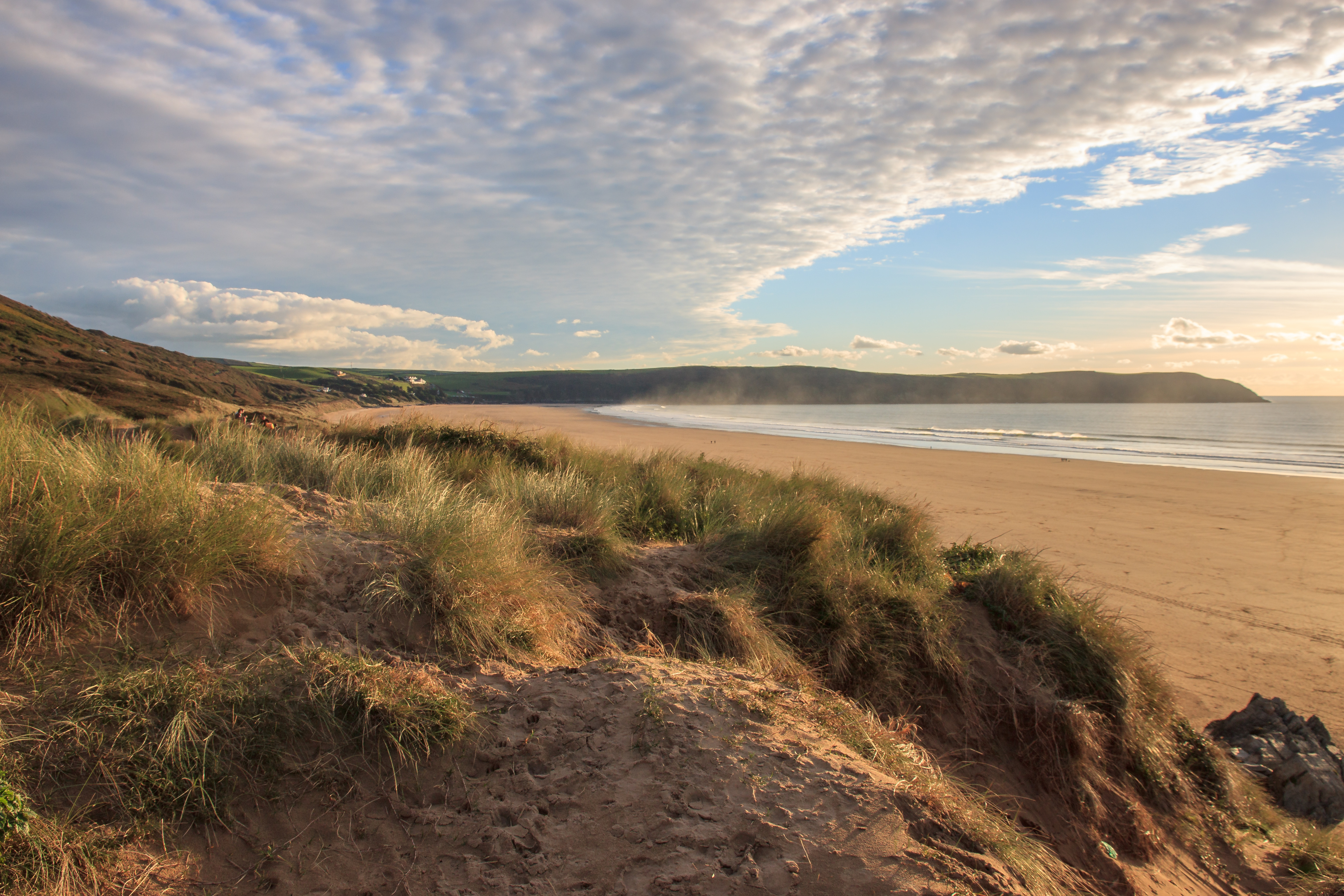 Dunes at Woolacombe Beach