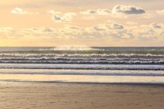 Waves on Woolacombe Beach