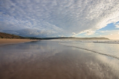 Putsborough/Woolacombe Beach with Baggy Point Beyond