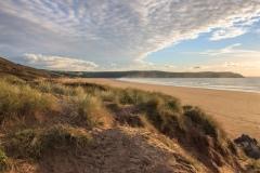 Dunes at Woolacombe Beach