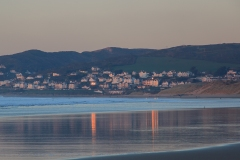 Woolacombe from Putsborough on a November Evening