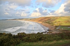 Putsborough Beach with Woolacombe in the distance