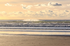 Waves on Woolacombe Beach