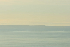 Lundy Island from Saunton Down above Croyde