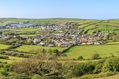 Croyde From Saunton Down in May