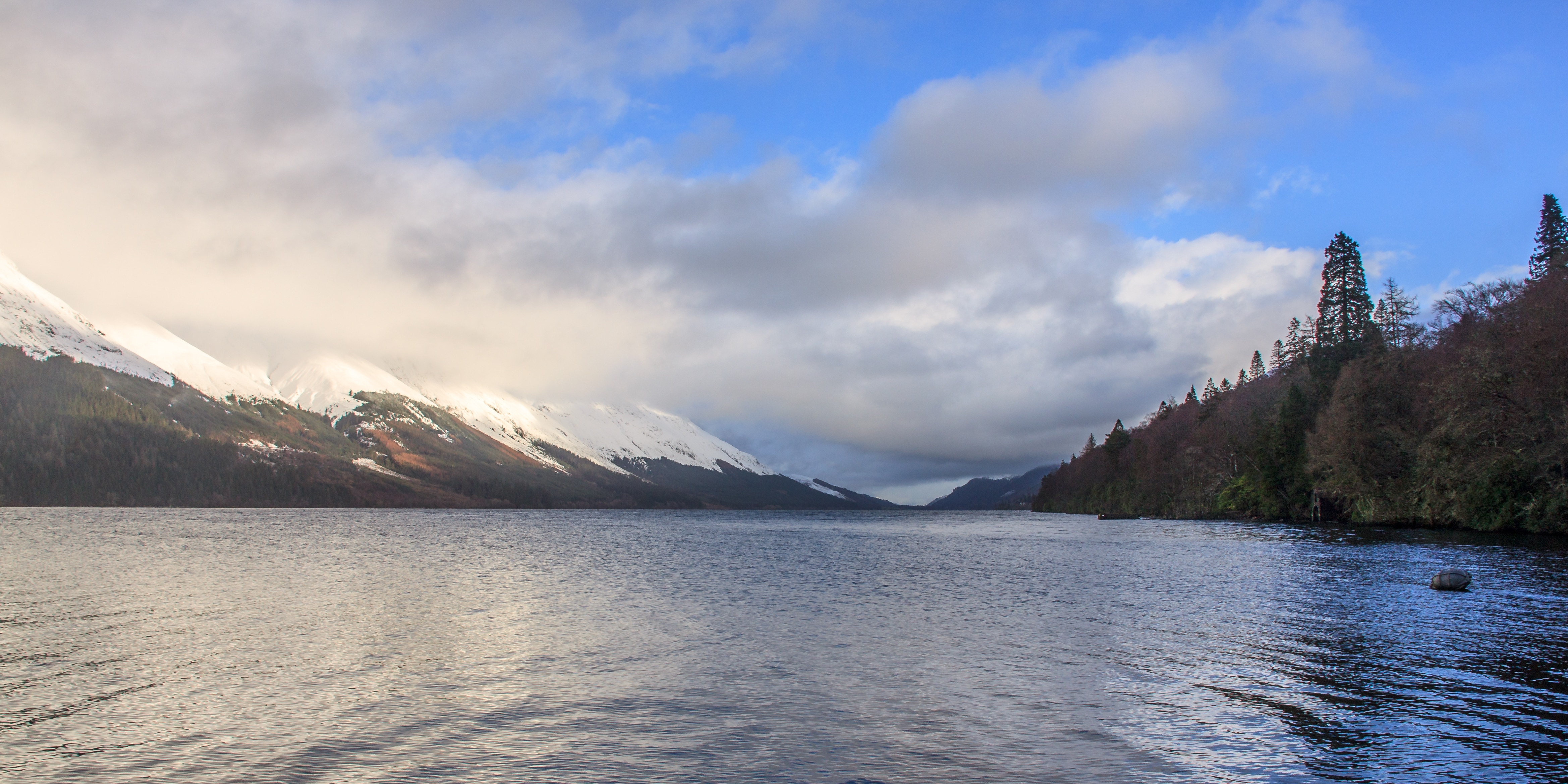 Loch Lochy from Invergloy