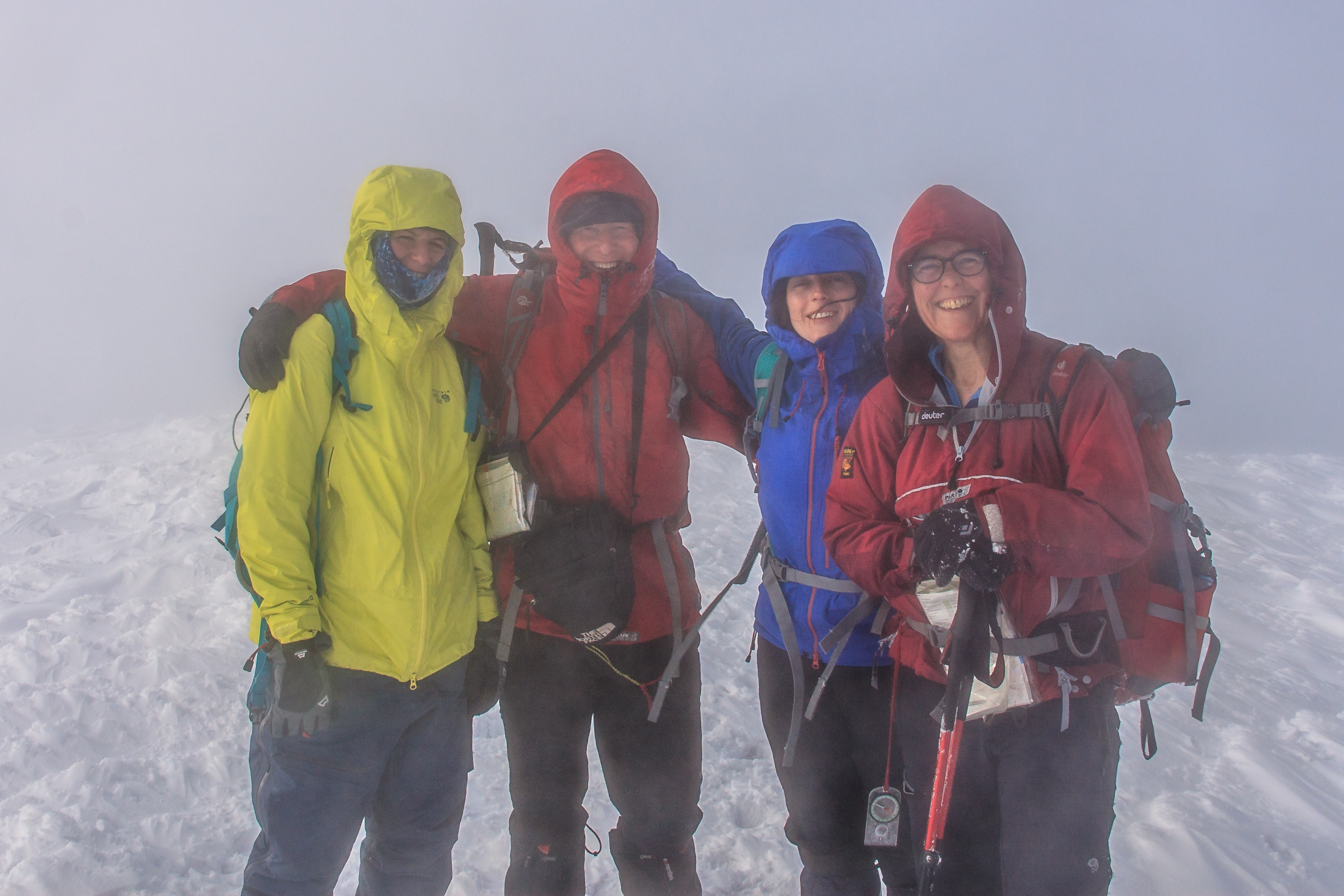 On the summit of Beinn na Lap