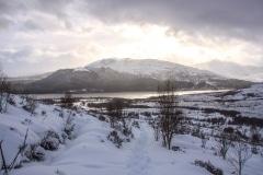 Loch Laggan from walk to Creag Meagaidh