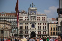Torre Dell'Orologio on St Marks Square, Venice