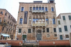 Typical Venice building.