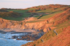 Rockham Bay near Mortehoe, between Morte Point and Bull Point. April 2015.