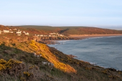 Woolacombe from Morte Point. April 2015.