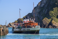 June: The Waverley at Ilfracombe