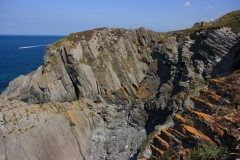 Cliffs at Bull Point (between Ilfracombe and Woolacombe)