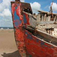 Ship wreck at Crow Point
