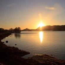 Loch Tarff south of Loch Ness, March 2015