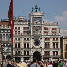 Torre Dell'Orologio on St Marks Square, Venice