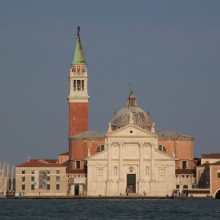 Church on island of Guidecca opposite St Mark's Square, Venice